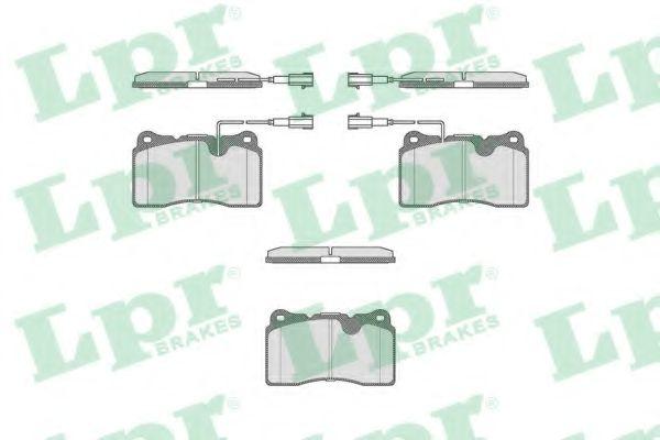 Тормозные колодки дисковые  арт. 05P674