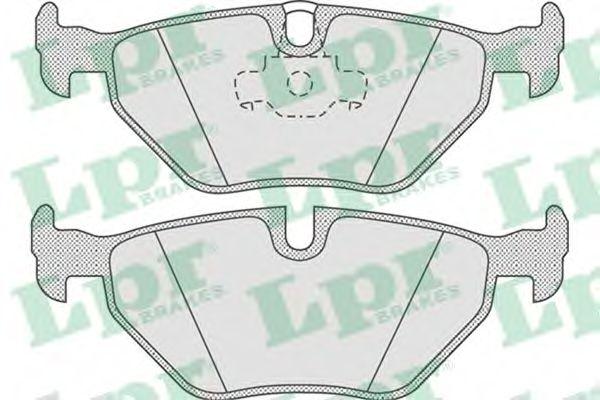 Тормозные колодки дисковые  арт. 05P675