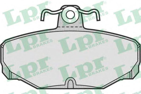 05P677  LPR - Гальмівні колодки до дисків (R)  арт. 05P677