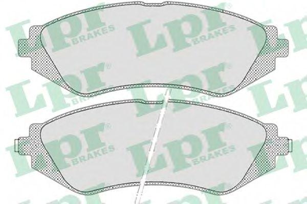 05P682  LPR - Гальмівні колодки до дисків (F, з датчиком)  арт. 05P682