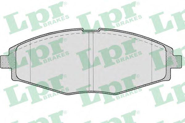 05P693  LPR - Гальмівні колодки до дисків (F, V)  арт. 05P693