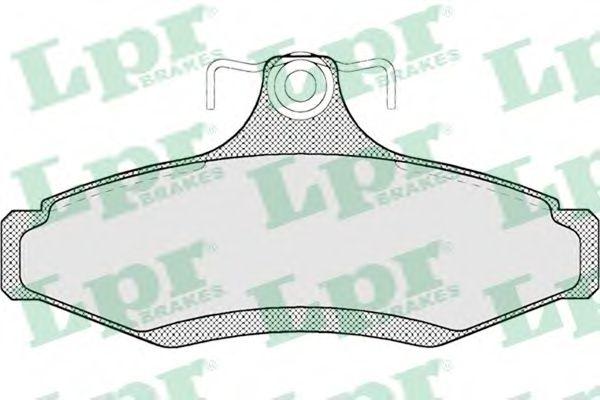 Тормозные колодки дисковые  арт. 05P694