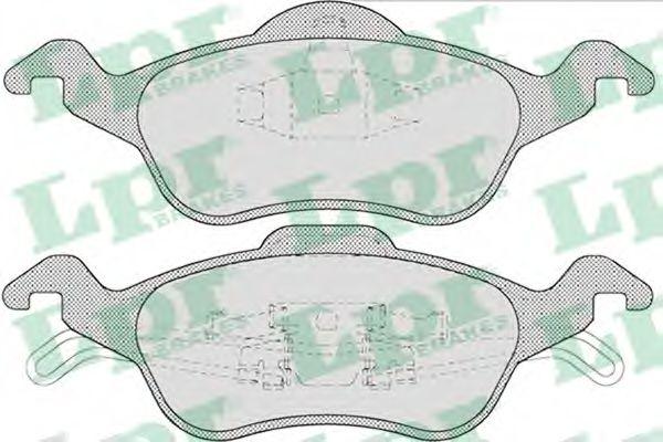 Brake pad set LPR 05P696