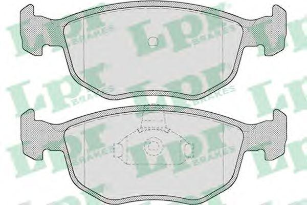 05P715  LPR - Гальмівні колодки до дисків (F)  арт. 05P715