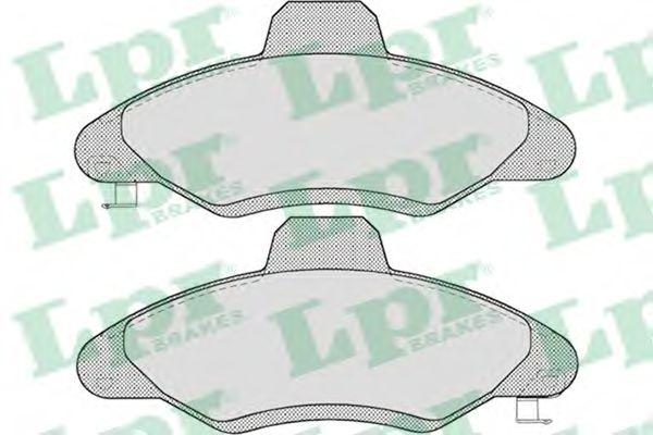 Тормозные колодки  арт. 05P717