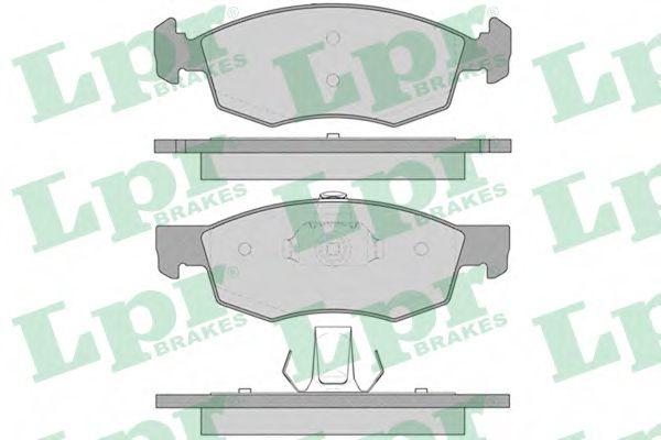 Тормозные колодки  арт. 05P756