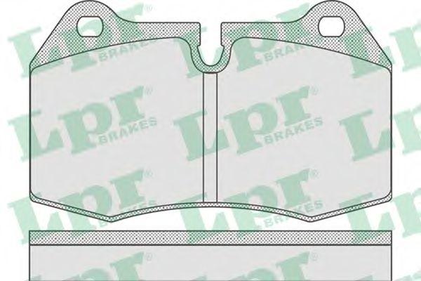 Тормозные колодки  арт. 05P769