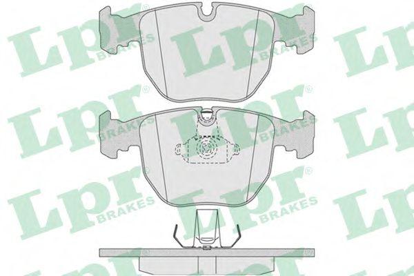 Тормозные колодки  арт. 05P771