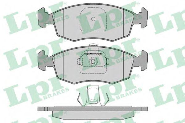 Тормозные колодки дисковые  арт. 05P785