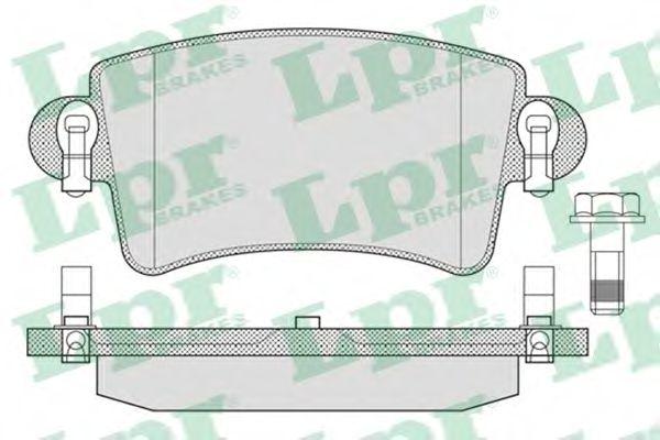 Brake pad set LPR 05P791