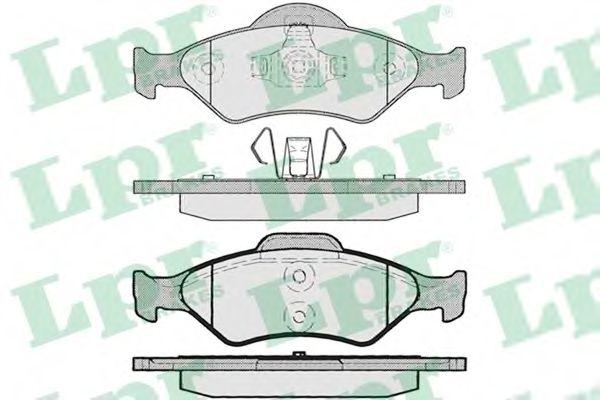 Тормозные колодки  арт. 05P795