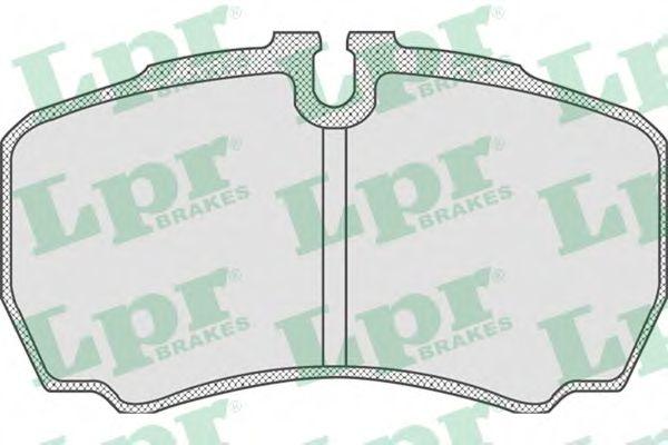Тормозные колодки  арт. 05P830