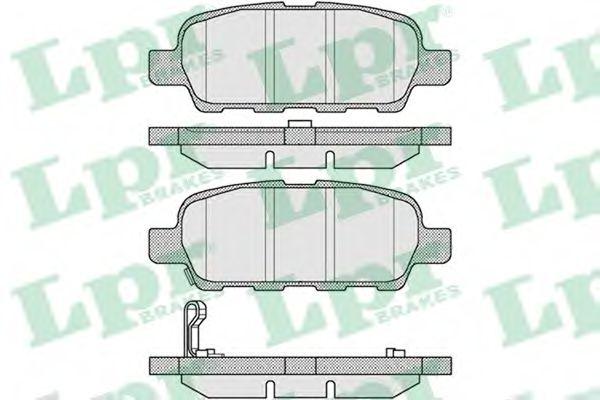 Тормозные колодки дисковые  арт. 05P857