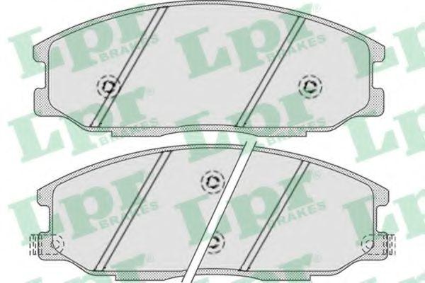 Тормозные колодки  арт. 05P858