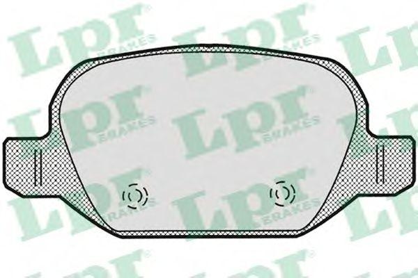 Комплект тормозных колодок, дисковый тормоз  арт. 05P871
