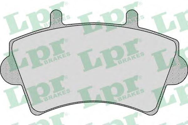 Brake pad set LPR 05P884