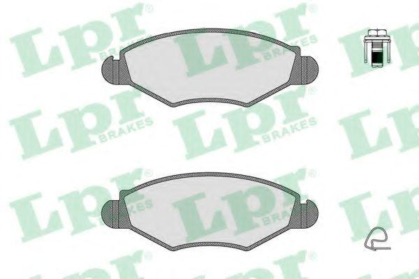 Brake pad set LPR 05P903
