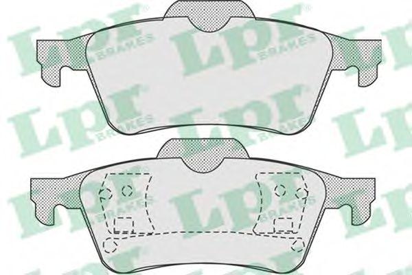 Brake pad set LPR 05P907