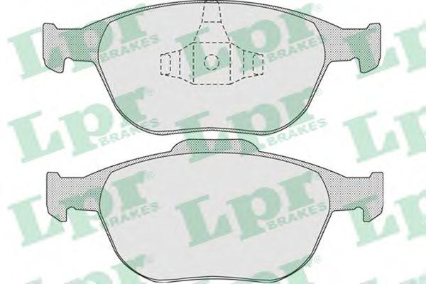 05P913  LPR - Гальмівні колодки до дисків (F)  арт. 05P913