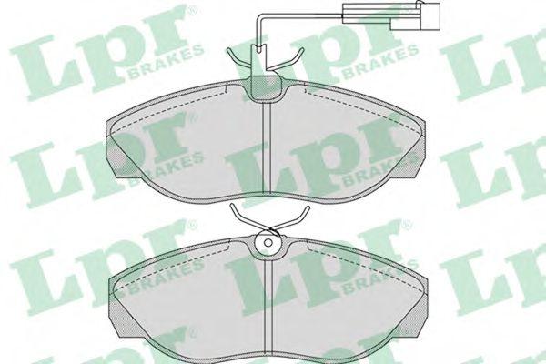 Тормозные колодки  арт. 05P965