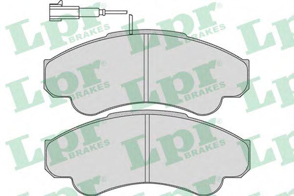 Тормозные колодки  арт. 05P967
