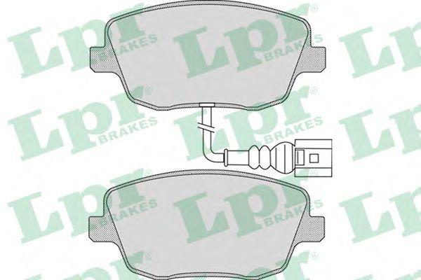 Brake pad set LPR 05P973
