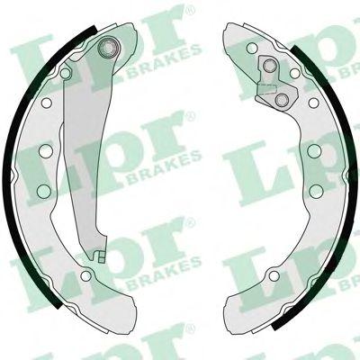 Brake shoe set LPR 06850