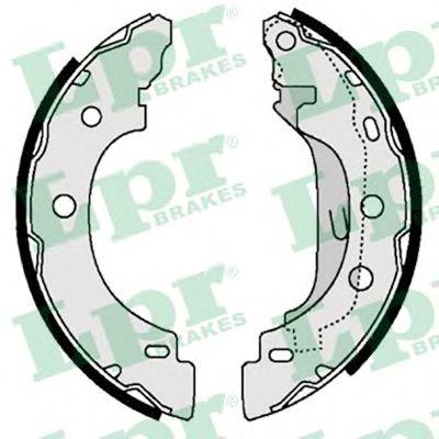 Brake shoe set LPR 07330