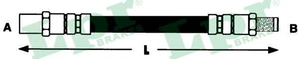 6T46132  LPR - Гальмівний шланг  арт. 6T46132