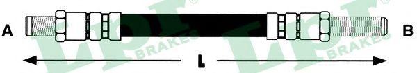 6T46112  LPR - Гальмівний шланг  арт. 6T46112