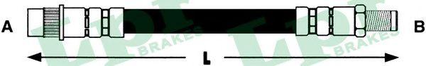 Шланг гальмівний LPR арт. 6T48459