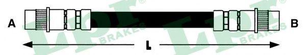 6T46557  LPR - Гальмівний шланг  арт. 6T46557