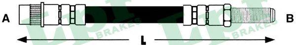 6T46248  LPR - Гальмівний шланг  арт. 6T46248