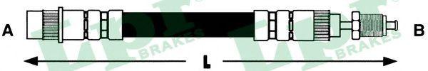 6T46559  LPR - Гальмівний шланг  арт. 6T46559