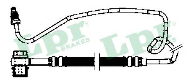 Тормозной шланг  арт. 6T48260