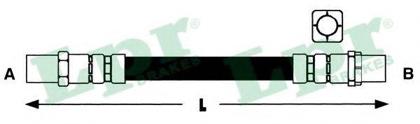 6T46314  LPR - Гальмівний шланг FEBIBILSTEIN арт. 6T46314