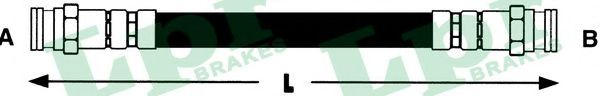 Тормозной шланг  арт. 6T46143