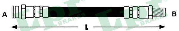 6T46235  LPR - Гальмівний шланг  арт. 6T46235