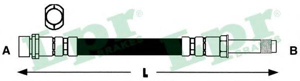 6T46589  LPR - Гальмівний шланг  арт. 6T46589