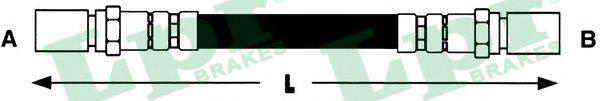 6T46680  LPR - Гальмівний шланг  арт. 6T46680