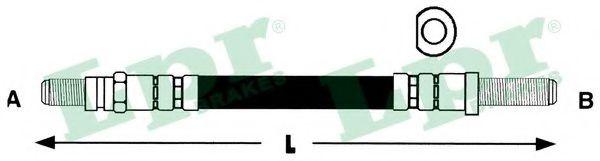 6T46110  LPR - Гальмівний шланг  арт. 6T46110