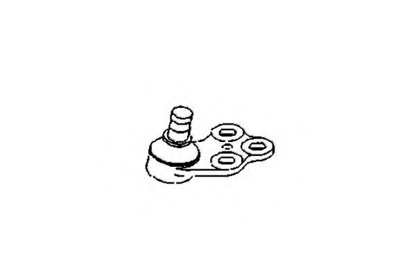 Опора шаровая, передняя правая SWAG арт. 0482061