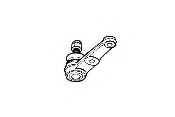 Опора шаровая DAEWOO - CHEVROLET NUBIRA (пр-во Ocap)                                                 OCAP 0402896