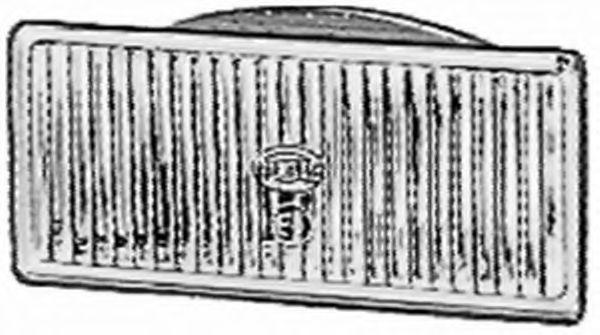 Вставка фары, противотуманная фара  арт. 1NB123581001