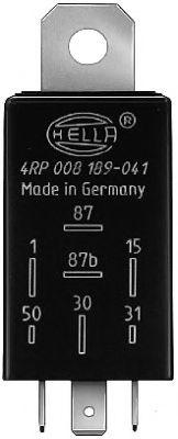 Реле топливного насоса Реле, топливный насос HELLA арт. 4RP008189041