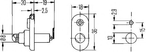 Реле дверей  арт. 6ZF004365031