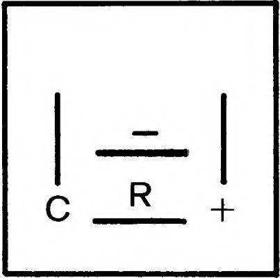 Прерыватель указателей поворота, Прерыватель указателей поворота  арт. 4DB007218001