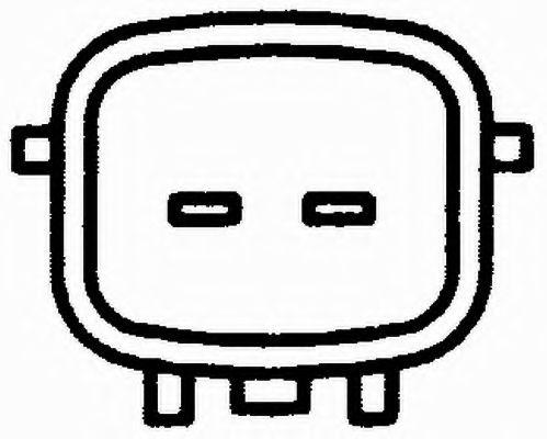 Температурный датчик охлаждающей жидкости, Датчик, температура охлаждающей жидкости  арт. 6PT009107531