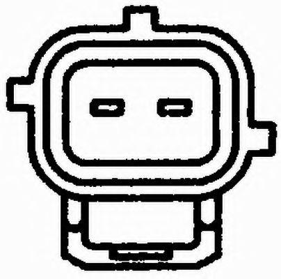 Температурный датчик охлаждающей жидкости  арт. 6PT009107121