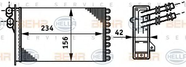 Печка HELLA 8FH351311021